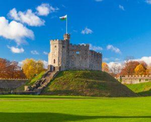 Cardiff-Castle-Keep-Sunny